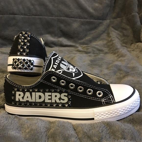 Men's Oakland Raiders Converse